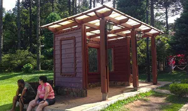 Espaço antes do Concierge no Lago Negro - Gramado inova com modelo de espaço urbano que atende turistas e moradores