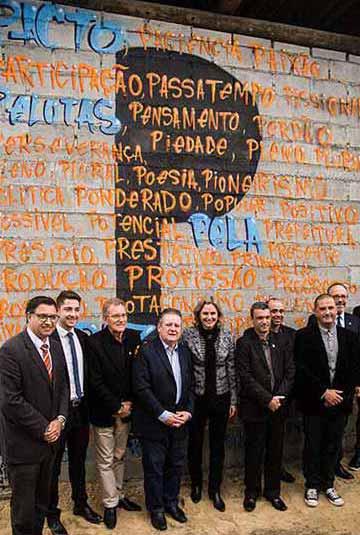 Fábrica em presídio de Pelotas  - Inaugurada fábrica de artigos de concreto no Presídio de Pelotas