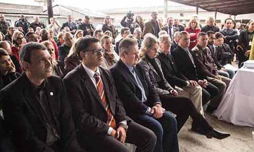 Fábrica em presídio de Pelotas 4 - Inaugurada fábrica de artigos de concreto no Presídio de Pelotas