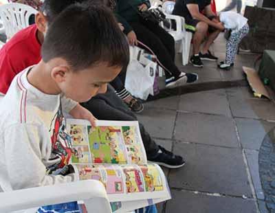 FEIRA DO LIVRO INFANTIL SESC 3 - Feira do Livro Infantil Sesc encerrou no domingo na Via del Vino em Bento Gonçalves