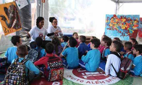 FEIRA DO LIVRO INFANTIL SESC 4 - Feira do Livro Infantil Sesc encerrou no domingo na Via del Vino em Bento Gonçalves