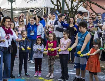 FEIRA DO LIVRO INFANTIL SESC 7 - Feira do Livro Infantil Sesc encerrou no domingo na Via del Vino em Bento Gonçalves