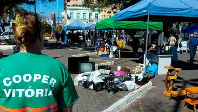 Feira do Alimento Saudável 390x220 - Sábado tem coleta de lixo eletrônico e óleo de cozinha em São Leopoldo
