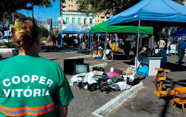 Feira do Alimento Saudável - Sábado tem coleta de lixo eletrônico e óleo de cozinha em São Leopoldo