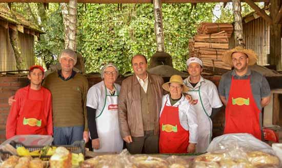 Festa da Colônia 1 - Fedoca Bertolucci visita Festa da Colônia de Gramado