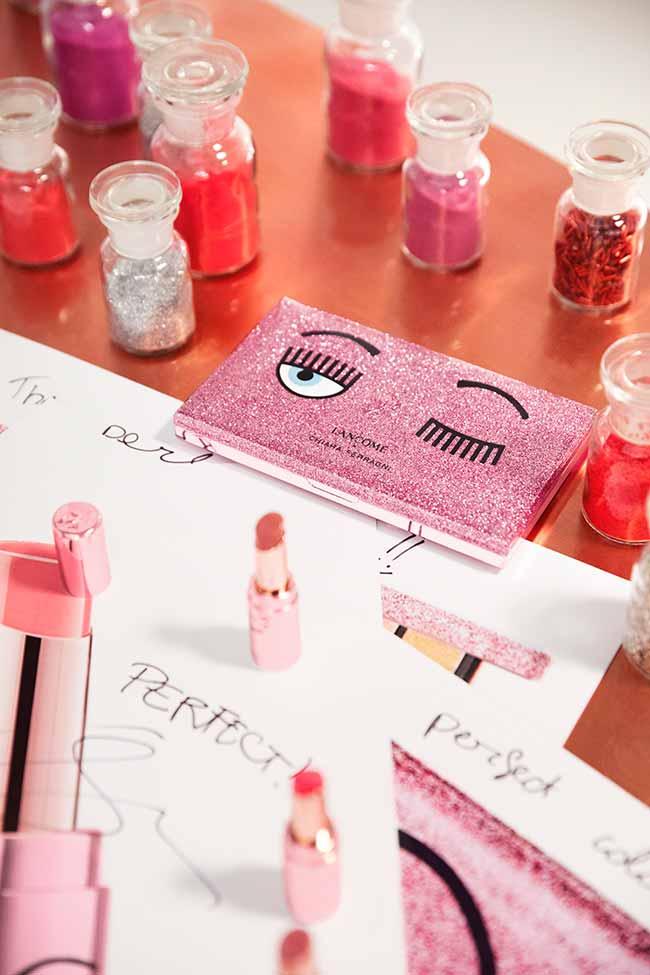 Flirting Palette - Lancôme e Chiara Ferragni lançam coleção de maquiagem