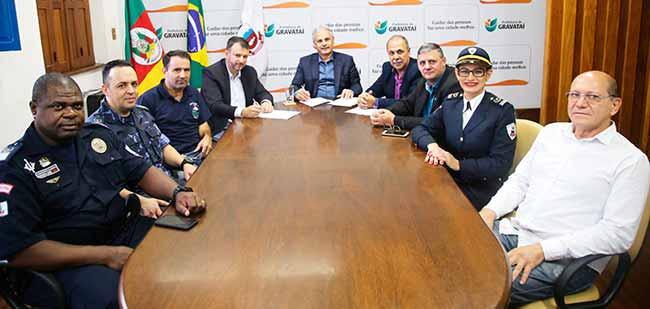 GMs gravatai - Guarda Municipal de Gravataí vai formar agentes das cidades de Tramandaí e Imbé