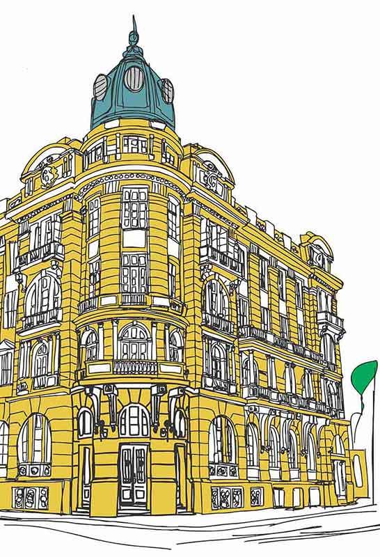 Grande Hotel - Patrimônio de Pelotas será representado na Fenadoce 2019 com arte e tecnologia