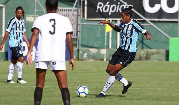 Gurias Gremistas conhecem as adversárias - Gurias Gremistas vão enfrentar o Fluminense nas oitavas de final do Brasileiro