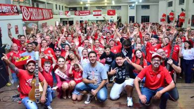 Photo of Comitiva do Inter é recebida em Santa Catarina