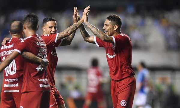 Inter em Belém do Pará 3 - Inter derrota Paysandu em Belém e segue às quartas da Copa do Brasil