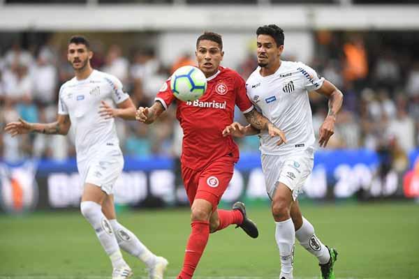 Inter empata com o Santos 1 - Inter empata com o Santos na Vila Belmiro