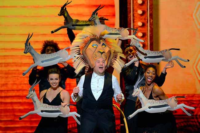 James Corden Conductor ceremonia 2016 1 - Film & Arts exibe a 73ª edição dos Prêmios Tony ao vivo
