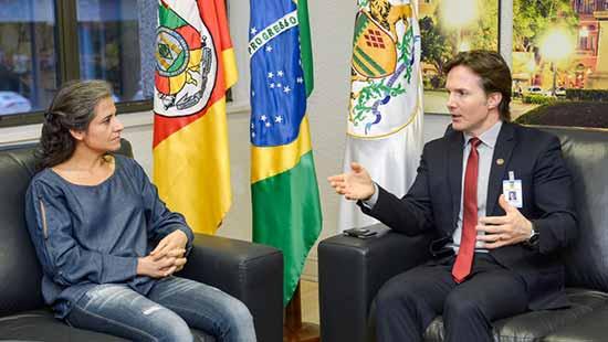 Marcia Rohr da Cruz é a nova diretora geral - Marcia Rohr da Cruz é a nova diretora-geral da Secretaria do Esporte e Lazer de Caxias