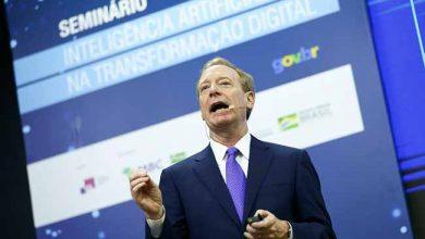 O presidente da Microsoft Brad Smith 390x220 - Inteligência artificial é tema de seminário em Brasília