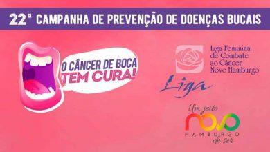 PMNH Cancer de Boca 390x220 - Novo Hamburgo: Dia D da Saúde Bucal ocorre no próximo sábado