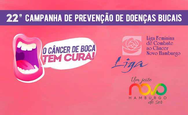 PMNH Cancer de Boca - Novo Hamburgo: Dia D da Saúde Bucal ocorre no próximo sábado