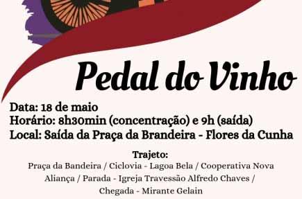 Pedal do Vinho - Pedal do Dia do Vinho é neste sábado, dia 18, em Flores da Cunha