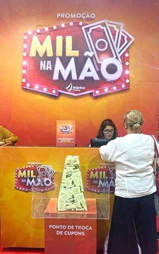 Ponto de troca Atlantico Shopping 1 - Atlântico Shopping premia clientes com mil reais em vale compras