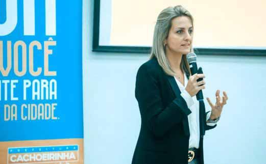 Presidente Simone Leite da Federasul - Simone Leite destaca importância da Reforma da Previdência