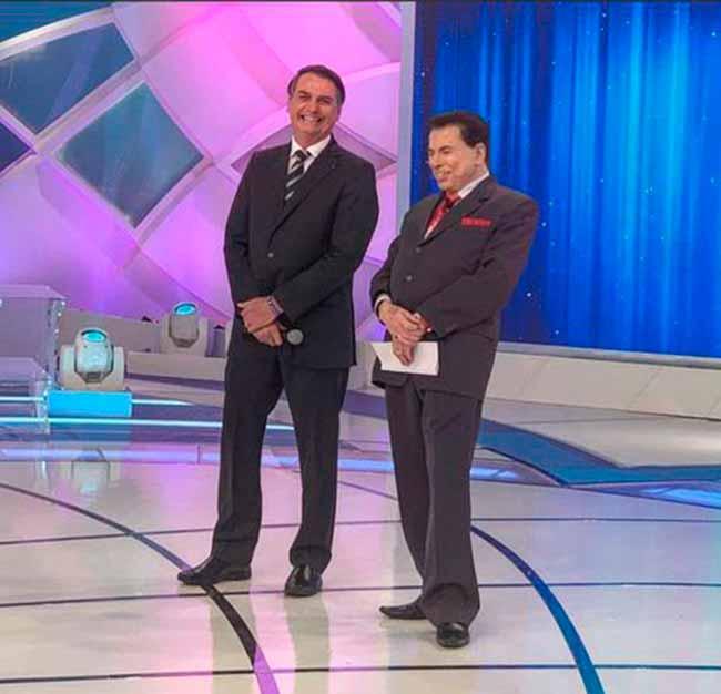 Programa Silvio Santos - Bolsonaro confirma aumento de validade da carteira de motorista