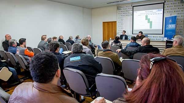 Reunião do Consinos em 2018 - Consinos convida prefeituras e Comudes para reunião na Feevale
