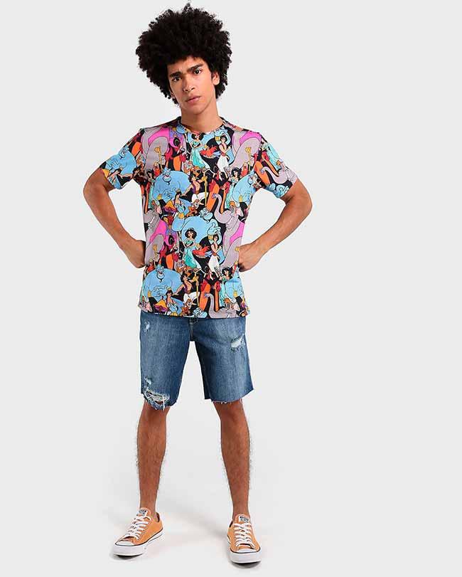 Riachuelo Camiseta Aladdin Disney R4990 3 - Riachuelo apresenta coleção Aladdin