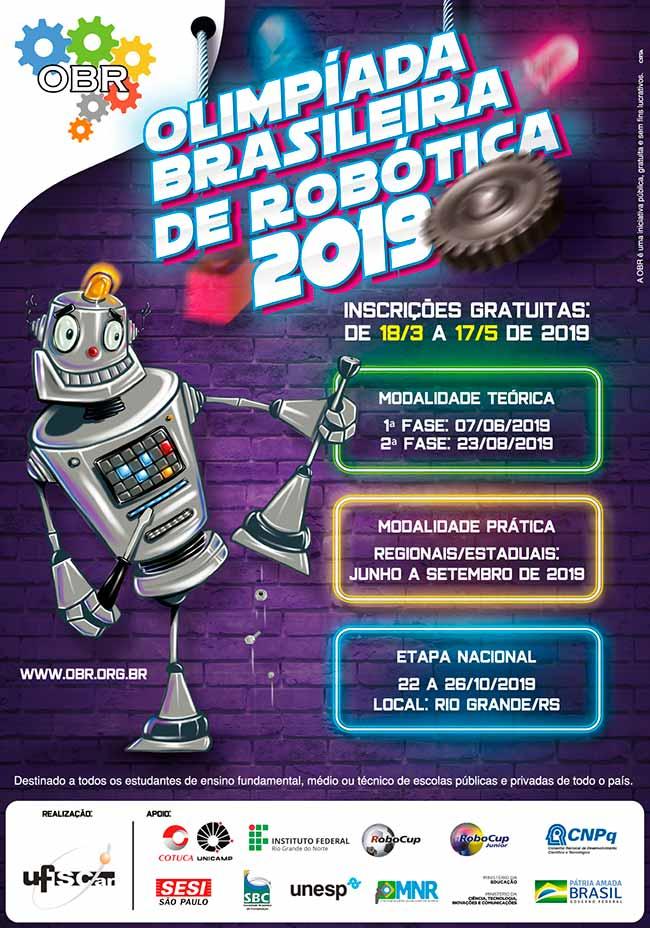 Robocup - Olimpíada Brasileira de Robótica está com inscrições abertas até 17 de maio