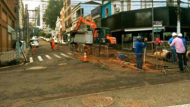 Rua David Canabarro 390x220 - Obras de revitalização avançam pela Rua David Canabarro em NH
