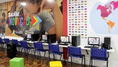 Sala de Inovação 390x220 - Escola Eva Karnal ganha primeira Sala de Inovação de Esteio