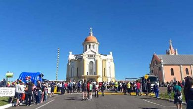 Santuário de Caravaggio em Farroupilha 1 390x220 - 10ª edição da Caminhada e Corrida da Fé reúne mais de 3,5 mil participantes