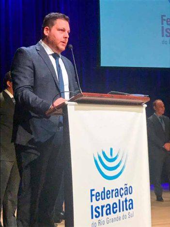 Sebastian Watenberg 351x468 - Sebastian Watenberg assume presidência da Federação Israelita do RS