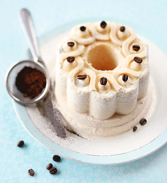 Semifreddo de café e pistache - Semifreddo de café e pistache