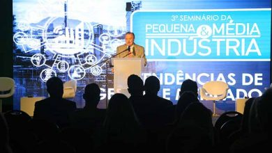 Seminário da Pequena e Média Indústria 390x220 - FIERGS reuniu empresários no Seminário da Pequena e Média Indústria