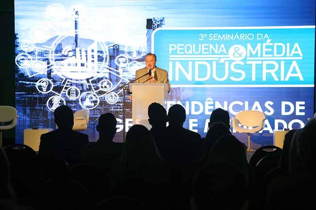 Seminário da Pequena e Média Indústria - FIERGS reuniu empresários no Seminário da Pequena e Média Indústria