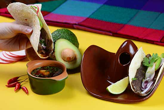 Taco de filé ao molho de cerveja - Guacamole Cocina Mexicana lança novas versões de tacos
