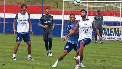 Tricolor encerra preparativos 390x220 - Grêmio está pronto para enfrentar o Ceará