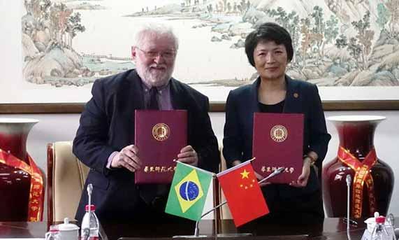 Unisinos assina convênio de cooperação com ECNU 2 - Unisinos assina convênio de cooperação com ECNU em Xangai