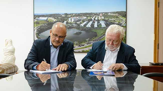 Unisinos e Vivante assinam renovação - Unisinos e Vivante renovam contrato de serviços