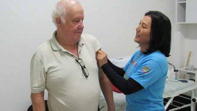 Vacinação contra a Gripe caí 390x220 - Caí já vacinou 75% do público alvo contra a gripe
