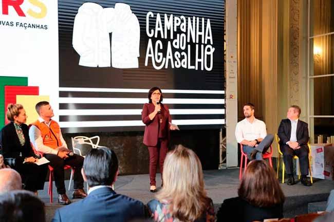 agasa - RS lança Campanha do Agasalho 2019