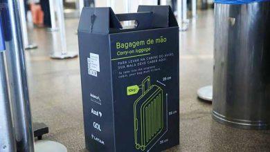bagagem de mão 390x220 - Aeroportos reforçam fiscalização de bagagens de mão