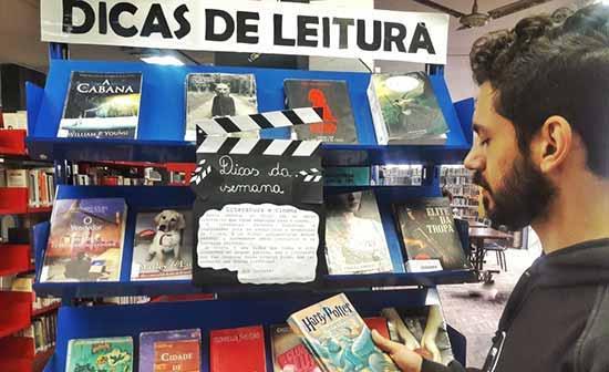 biblioteca pública São Leopoldo livros - Livros que inspiraram o cinema na Biblioteca Municipal de São Leopoldo