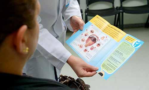 câncer de boca e o tabagismo 1 - Caxias realiza ação de prevenção contra o câncer de boca e o tabagismo
