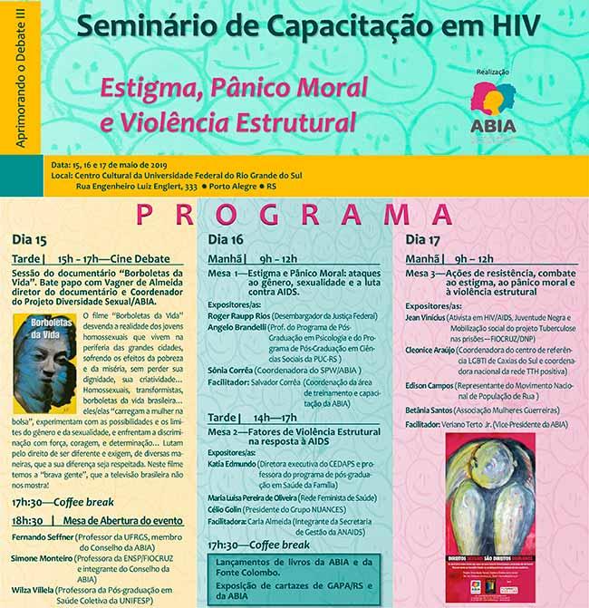 certo - Seminário de capacitação em HIV acontece em Porto Alegre
