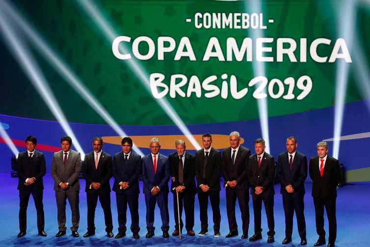conmebol - Torcedores violentos não poderão acompanhar jogos da Copa América