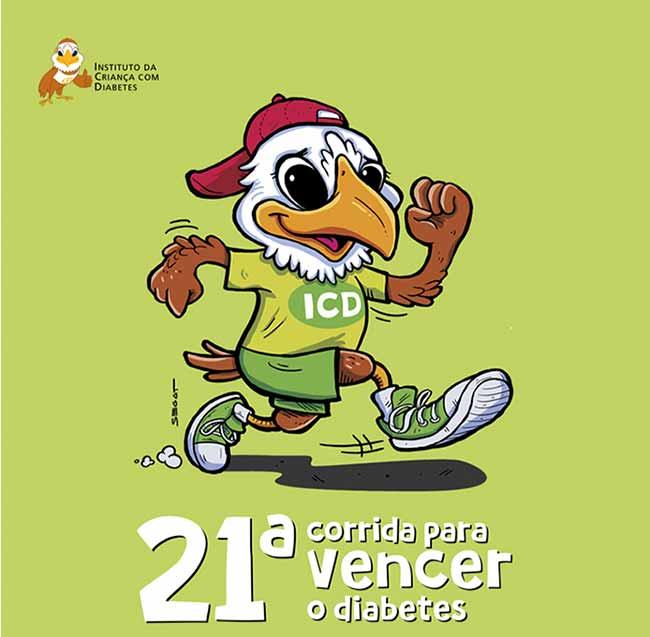 corrida vencerdiab - 21ª Corrida para Vencer o Diabetes acontece dia 26 de maio