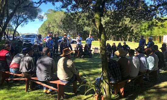 dia de campo em criuva 2 - Produtores participam de Dia de Campo em Criúva em Caxias