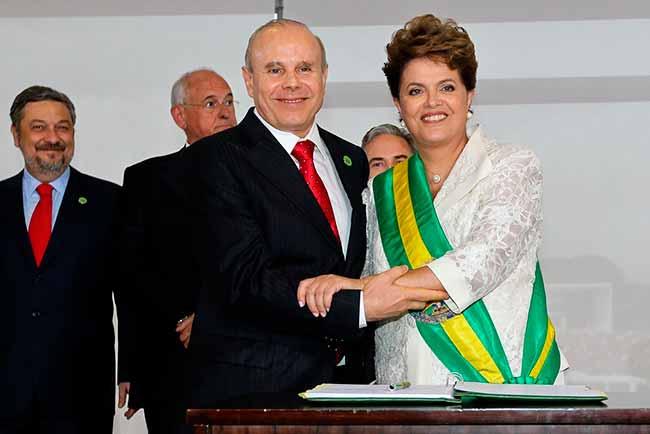 dilma rousseff guido mantega - Guido Mantega vira réu por fraudes de R$ 8 bilhões no BNDES