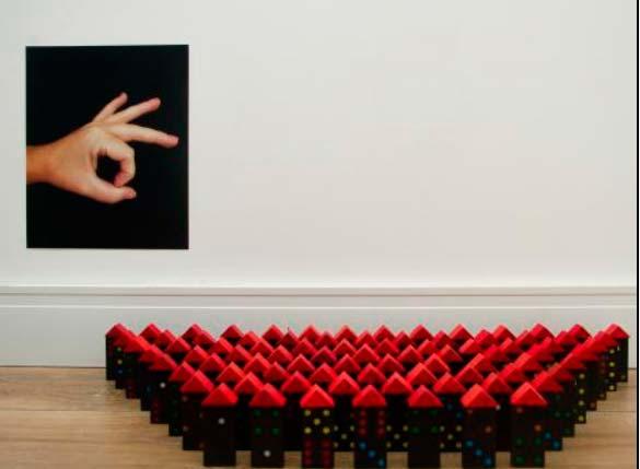 domino - Exposição Techne simultânea em Porto Alegre e Berlim